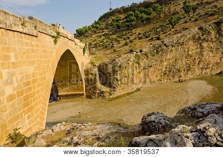 The Roman bridge at Cendere, Turkey