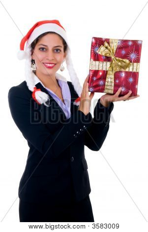 Businesswoman Christmas