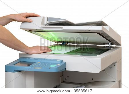 Working With A Copier