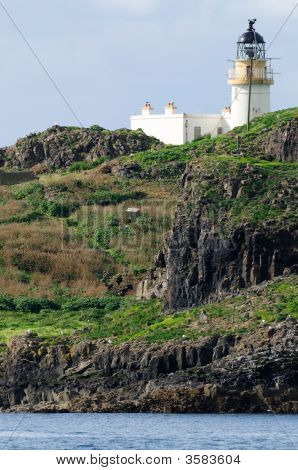 Fidra Lighthouse, Yellowcraig