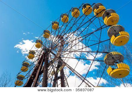 The Ferris Wheel in Pripyat Chernobyl 2012 March