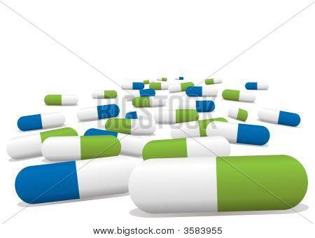 Blue Green Pills