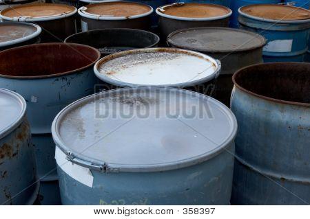 Waste Barrels