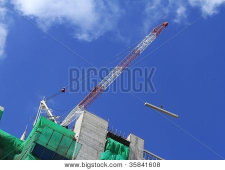 Hoist Crane Working