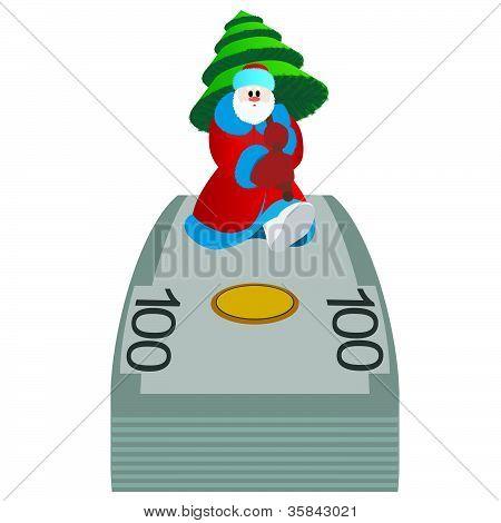 Money and Santa Claus