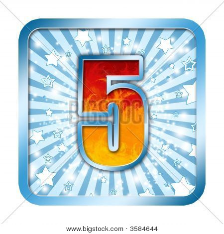 Five Celebration Numbers Series - 5