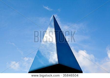 Glass pyramide