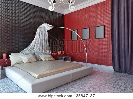 Bedroom With Baldachin