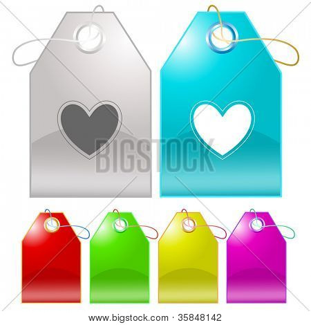 Heart. Raster tags. Vector version is in my portfolio.