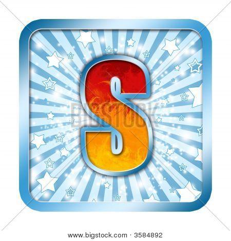 Letra de la celebración del alfabeto - S