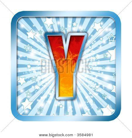 Alphabet Celebration Letter - Y