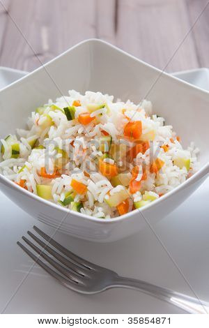 Basmati Rice With Veggies