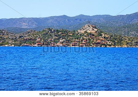 Kekova Island, Turkey