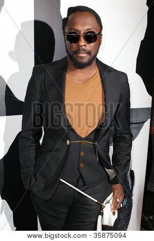 HOLLYWOOD, CA - AUGUST 13: Will.i.am arrives at the will.i.am Album Wrap Party at The Avalon on August 13, 2012 in Hollywood, California.