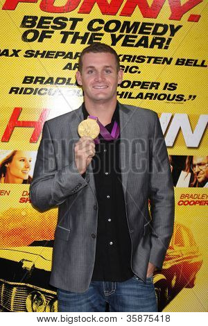 """LOS ANGELES - AUG 14:  Tyler Clary arrives at the """"Hit & Run"""" Los Angeles Premiere at Regal Cinema on August 14, 2012 in Los Angeles, CA"""