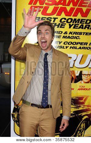 "LOS ANGELES - AUG 14:  Dax Shepard arrives at the ""Hit & Run"" Los Angeles Premiere at Regal Cinema on August 14, 2012 in Los Angeles, CA"