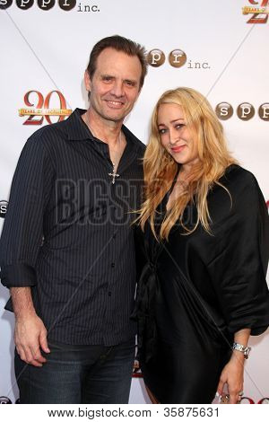 LOS ANGELES - AUG 9:  Michael Biehn, Jennifer Blanc-Biehn at the Sue Procko Public Relations 20th Anniversary Party at SPPR on August 9, 2012 in Culver City, CA