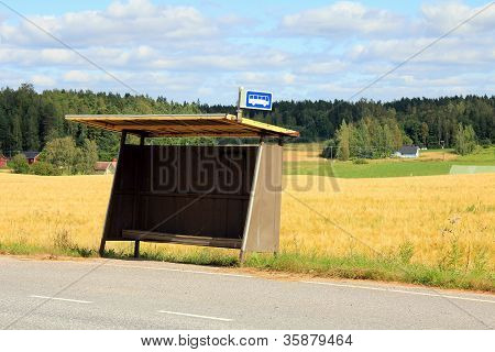 Rural Bus Stop Shelter