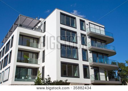 Modern house in Berlin
