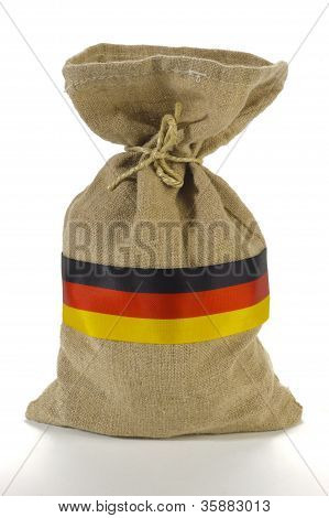 german money sack