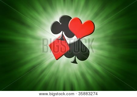 Suits Of Poker  Cards