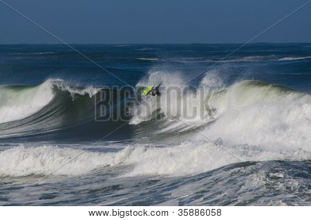 Dino Carmo During The The National Open Bodyboard Championship
