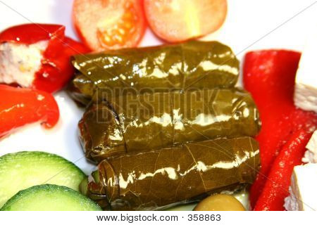 Stuffed Wine Leaves