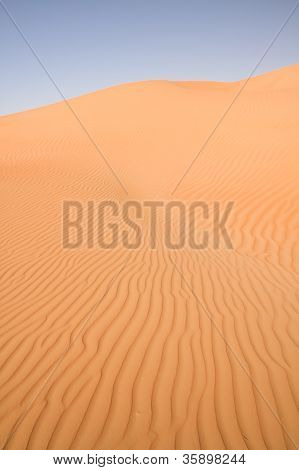 Towering Dune in the United Arab Emirates