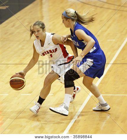 Basketball Dribble Player Woman Ontario