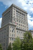 picture of asheville  - A large office building in Asheville North Carolina - JPG