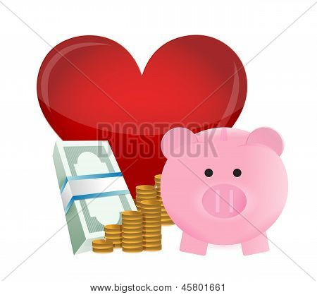 Loving Profits Concept