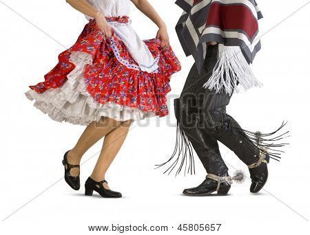 Chilean typical dance