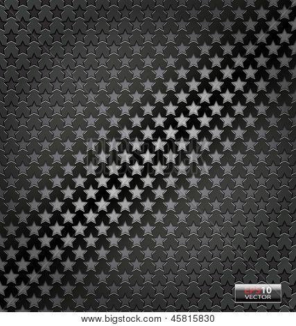 Star lite dynamic metal background