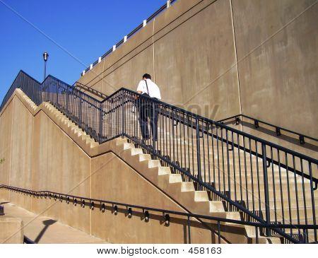 Treppe Klettern