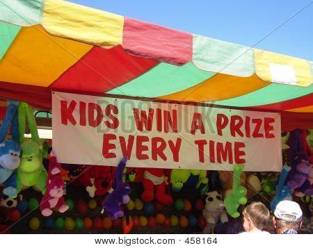Kids Win Prize