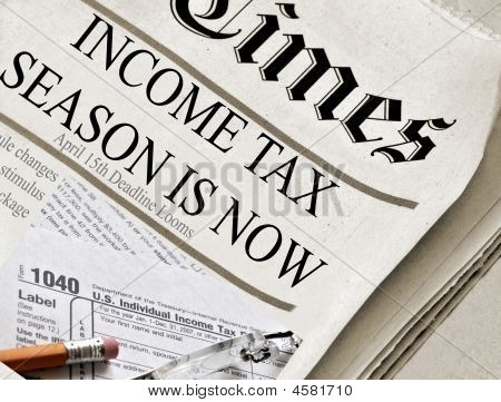 Income Tax Season Is Now