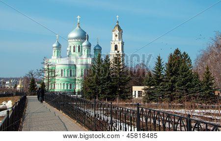The Monastery of St. Seraphim of Sarov in Diveevo