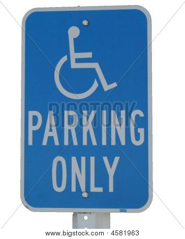 Handicapped Sign CLIP ART