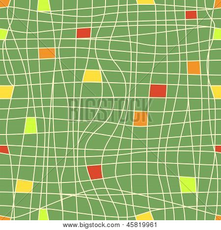 Abstract Geometric Background, Seamless Pattern, Raster Graphics.