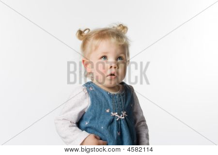 Young Girl In Pigtails