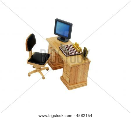 Desk Strategy Of Past Present And Future