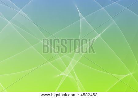 Soothing Abstract Glowing Lines Background