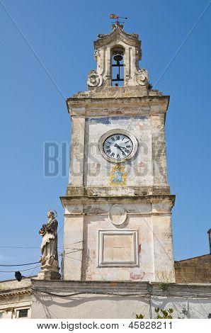 Clocktower. Francavilla Fontana. Puglia. Italy.