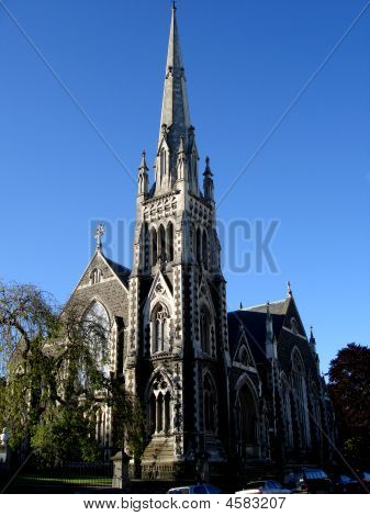 Cathedral In Dunedin, New Zealand