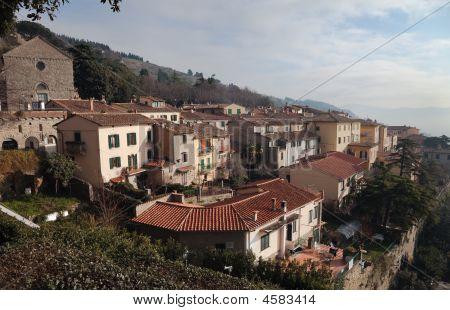 Cortona, Cityscape, Tuscany, Italy