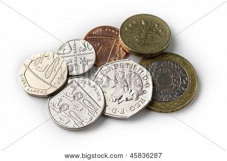 Brit coins