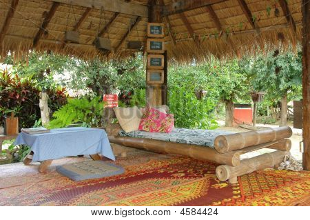 Bed Bamboo Outdoor