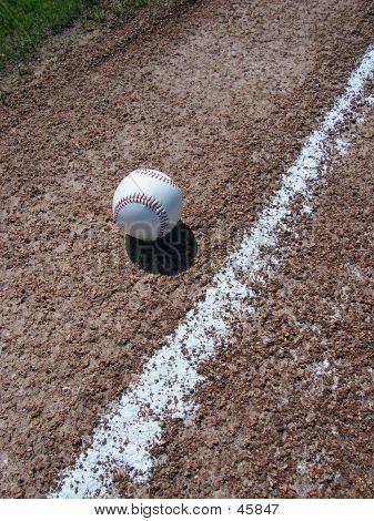 Baseball And Baseline
