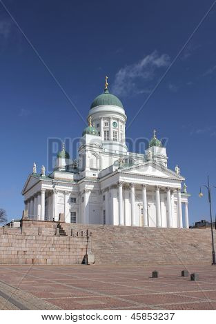 Cathedral In Helsinki.