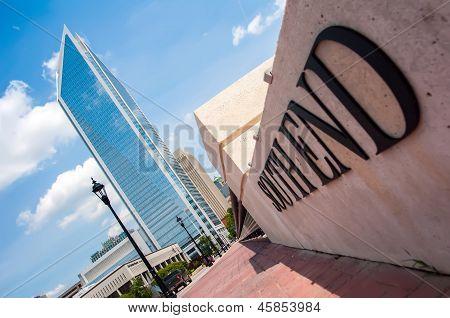 Uptown Charlotte, North Carolina Cityscape